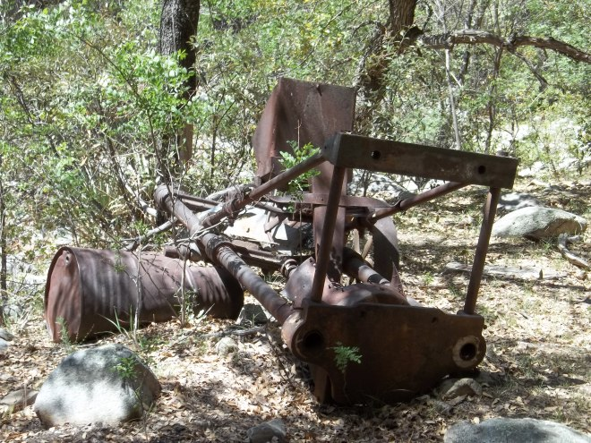 More Mining Equipment from Another Abandoned Mine.