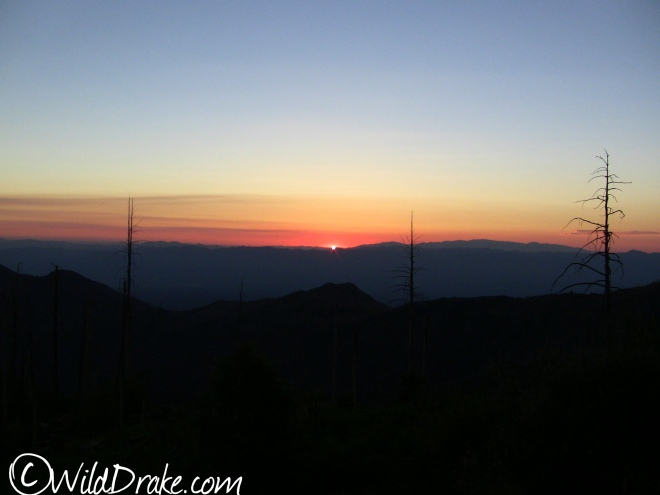 Sunrise, June 14, 2014 from Atop Mt. Lemmon